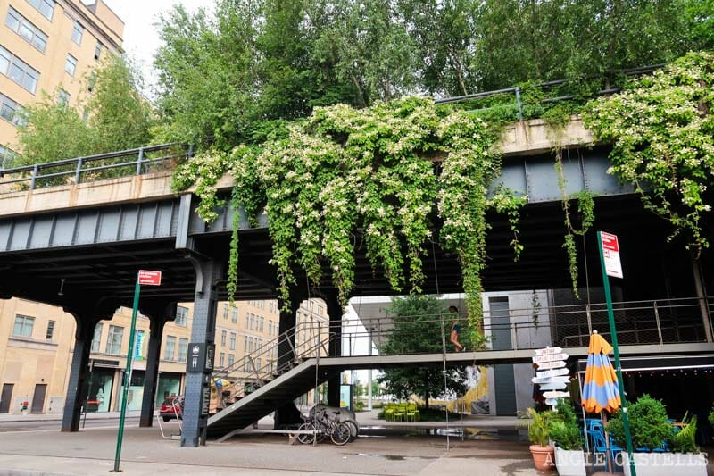 Cómo recorrer la High Line - Vías de tren en el Meatpacking District