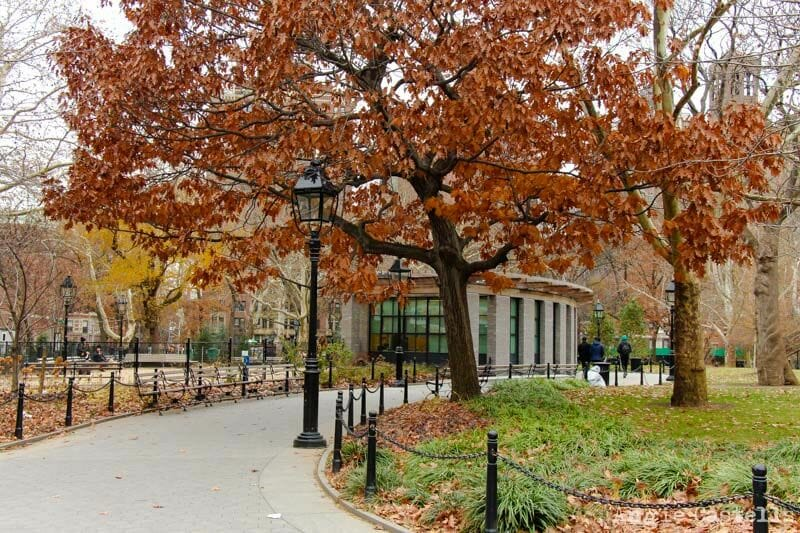El otoño en Nueva York Washington Square-1