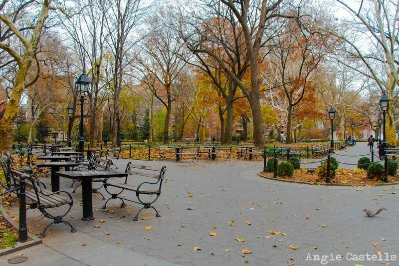 El otoño en Nueva York Washington Square-2