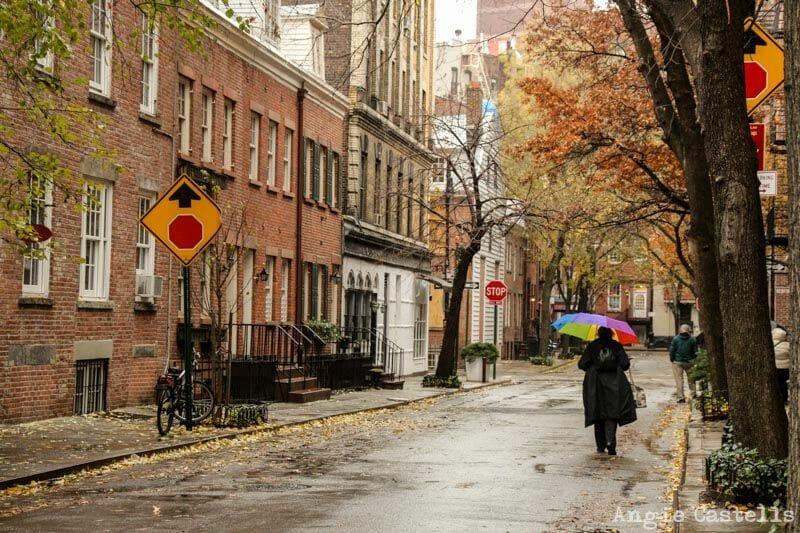 otoño en Nueva York West Village 1