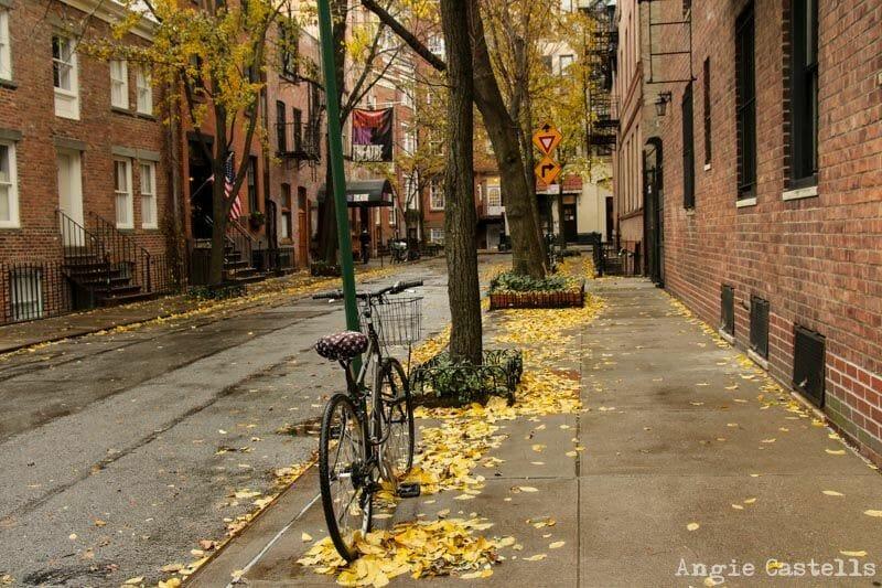 El otoño en Nueva York West Village-2