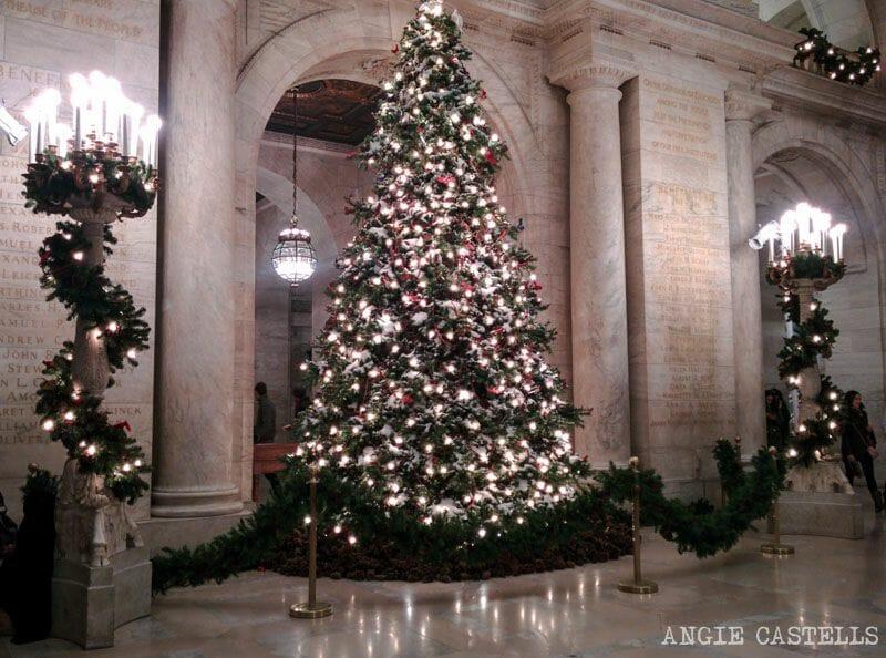 Las Navidades en Nueva York, la New York Public LIbrary