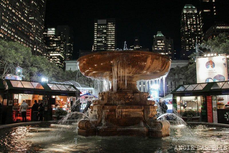 Las Navidades en Nueva York que ver y hacer Bryant Park