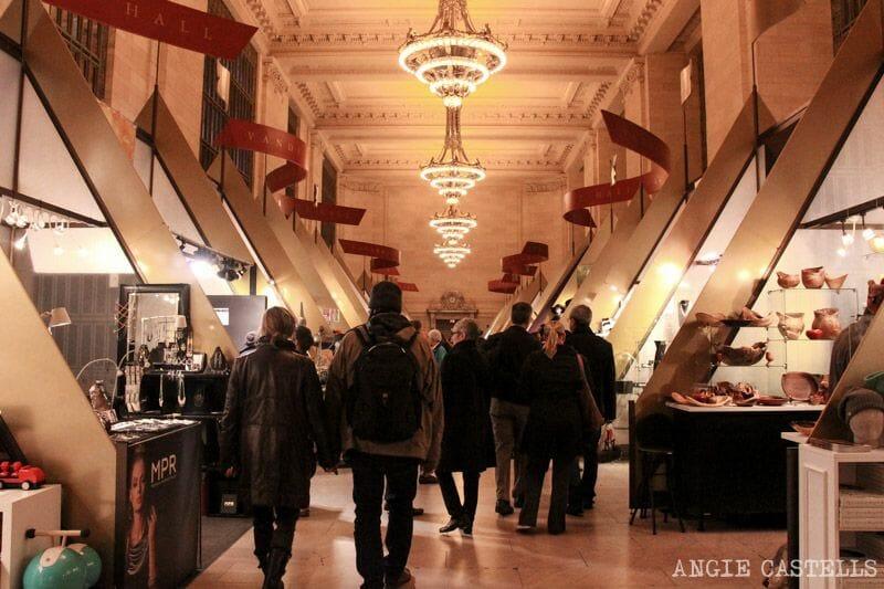 Las Navidades en Nueva York que ver y hacer mercado de Grand Central Station