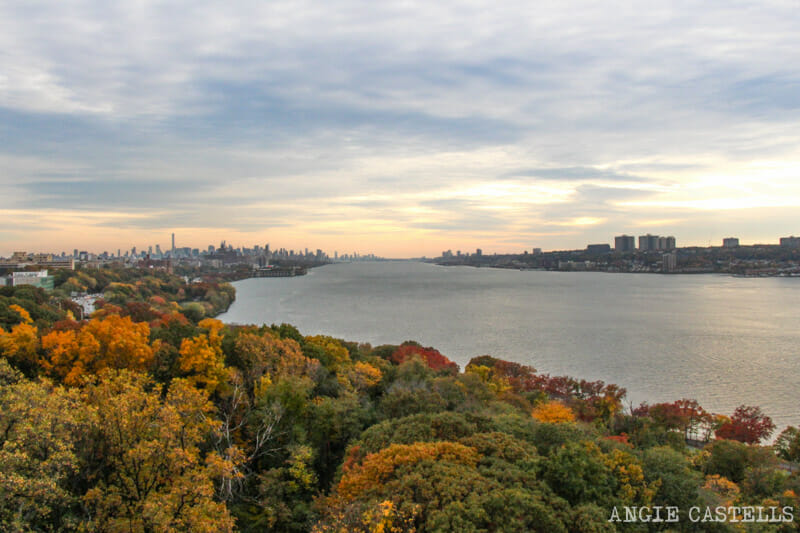 El otoño en Nueva York George Washington Bridge-1