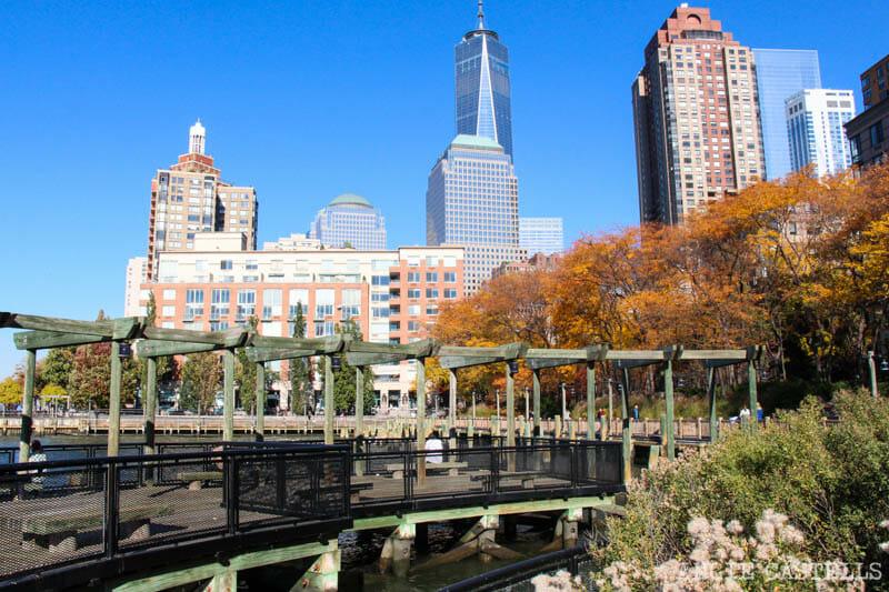 El otoño en Nueva York Battery Park-1