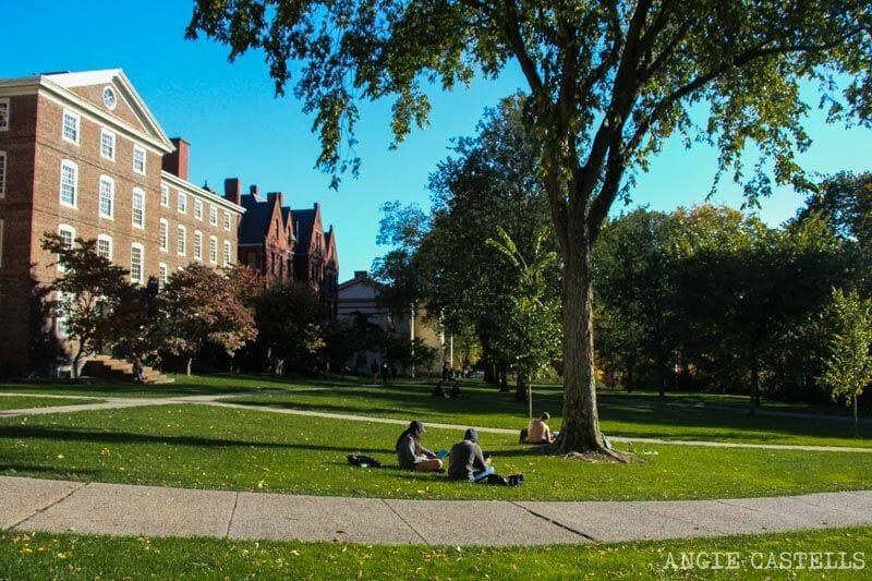 Guia de Rhode Island Providence y Newport Brown University