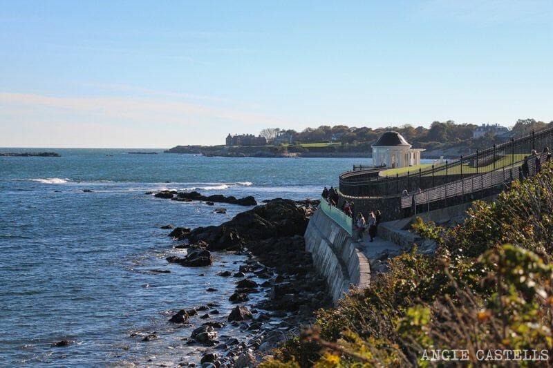 Guia de Rhode Island Providence y Newport Cliff Walk