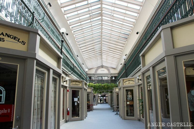 Guia de Rhode Island Providence y Newport The Arcade