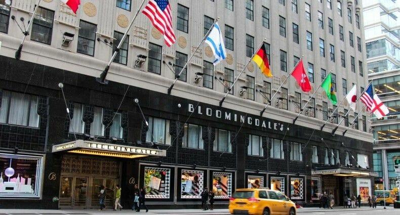 Compras del Black Friday en Nueva York Bloomingdales