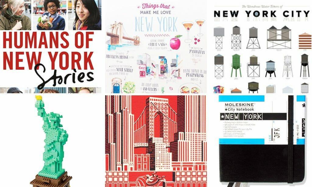 Los mejores regalos de Nueva York para enamorados de la ciudad