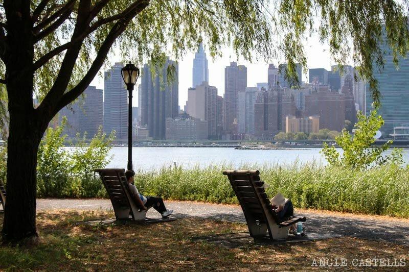 Gantry Plaza State Park, en Queens, mejores vistas de Nueva York