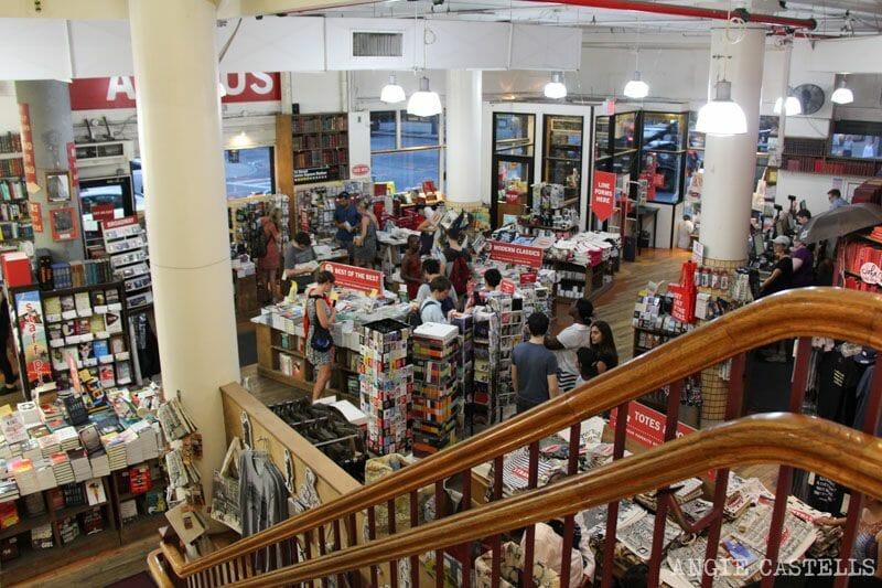 Tiendas donde comprar regalos en Nueva York Strand Bookstore