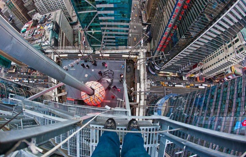 Cómo celebrar el fin de año en Nueva York - La bola de Times Square