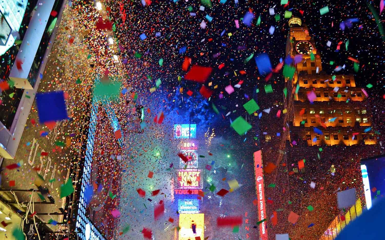 Cómo celebrar el fin de año en Nueva York - Times Square