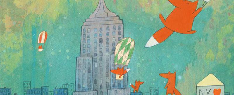 Regalos de Nueva York - Ilustraciones de Kristiana Parn