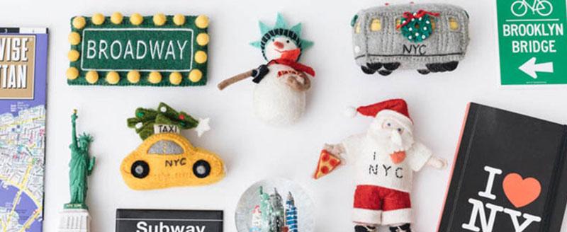 Adornos de Navidad de Nueva York de Craftspring