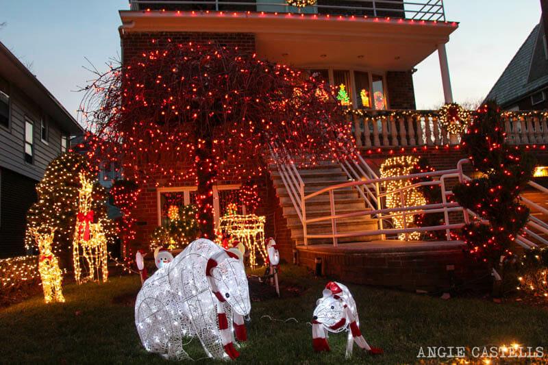 Las luces de Navidad del barrio de Dyker Heights, en Brooklyn - Ruta y mapa