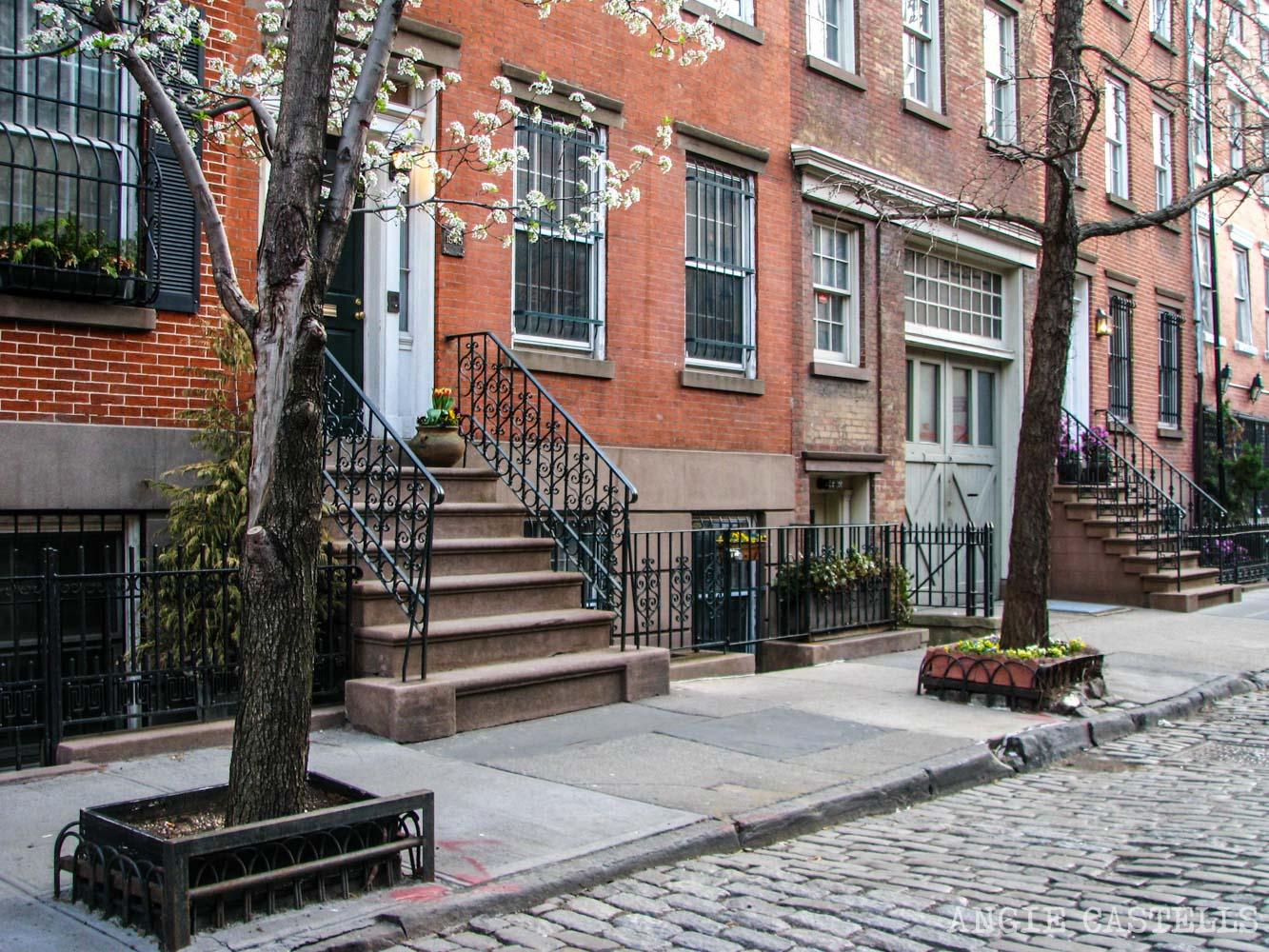 Barrios de Manhattan Mapa West Village-1