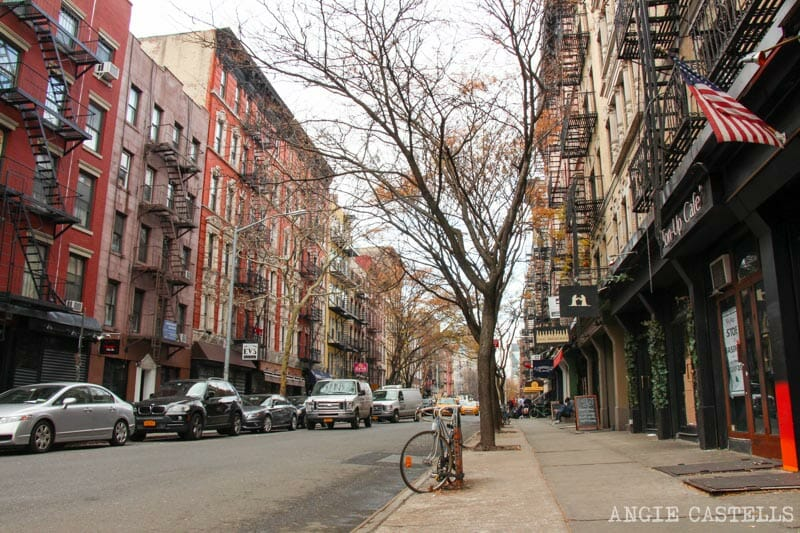 Barrios de Manhattan Mapa East Village