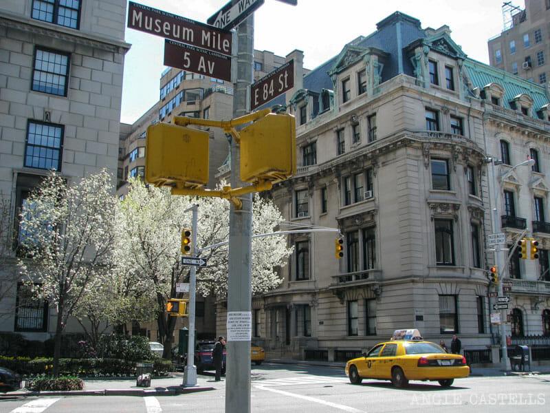 Barrios de Manhattan Mapa Upper East Side