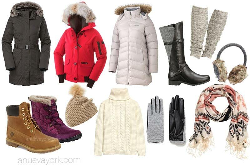 El tiempo en Nueva York: qué ropa llevar en invierno