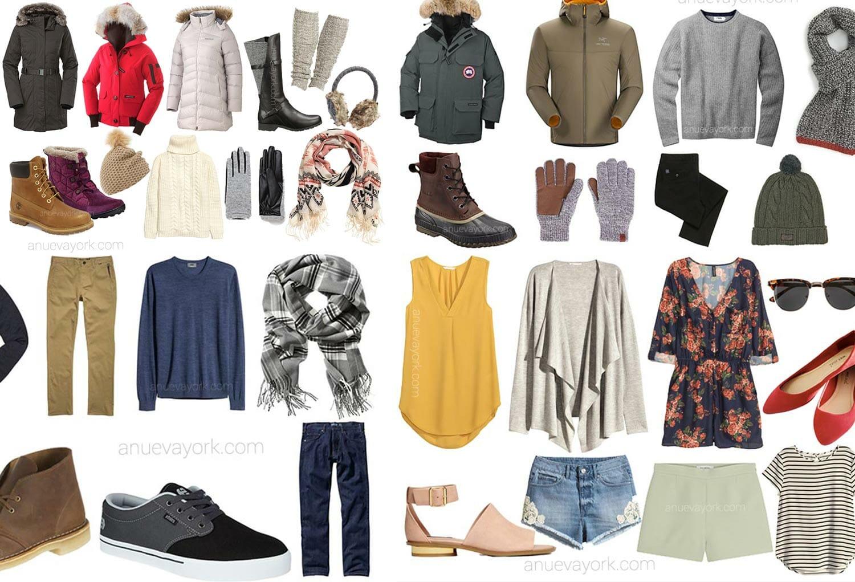 El tiempo en Nueva York: qué ropa llevarte según la estación
