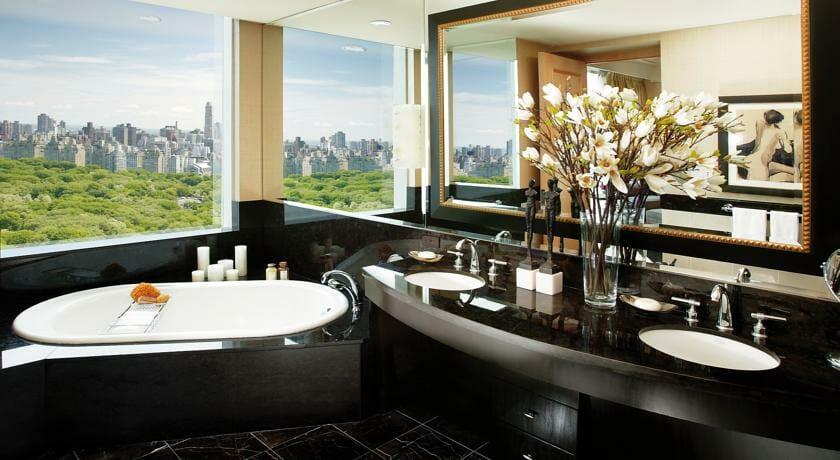 Hoteles romanticos y lujo Nueva York Mandarin Oriental 2
