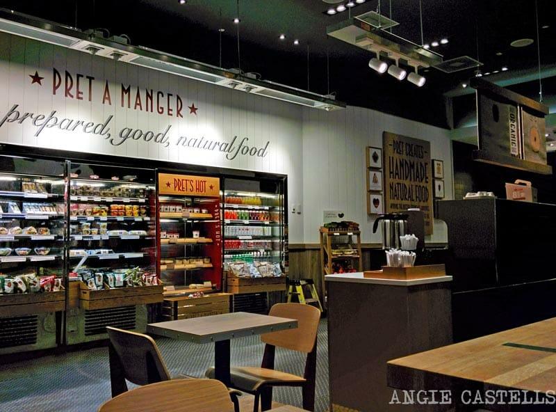 Dónde comer barato en Nueva York: Pret a Manger