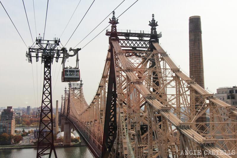 Subir al teleferico de Roosevelt Island Nueva York