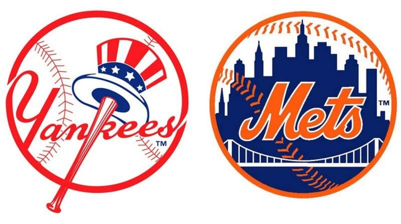 Los equipos de béisbol de Nueva York: los Yankees y los Mets