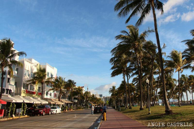 Que ver en Miami en 2 dias Ocean Drive