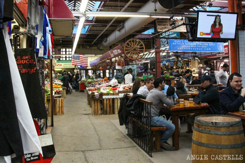 Belmont Arthur Avenue Little Italy Bronx Nueva York