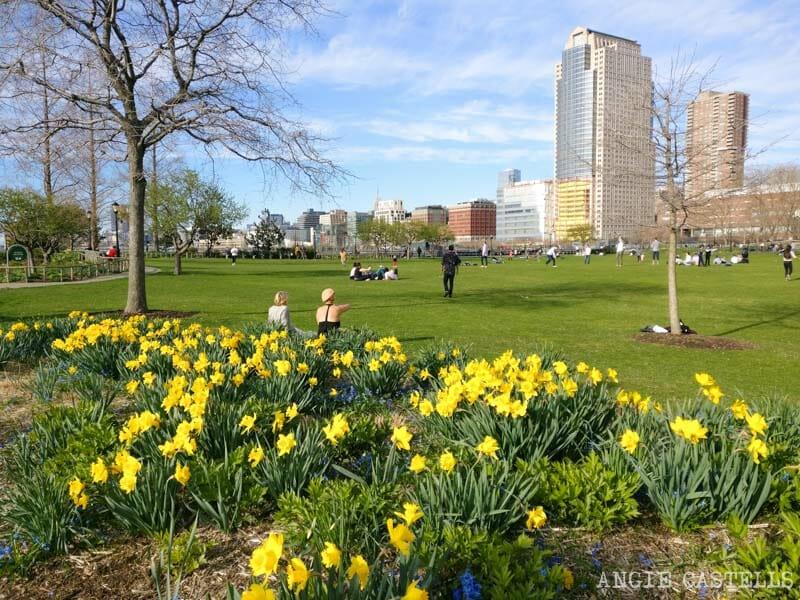 Qué hacer en primavera en Nueva York - Battery Park y Hudson
