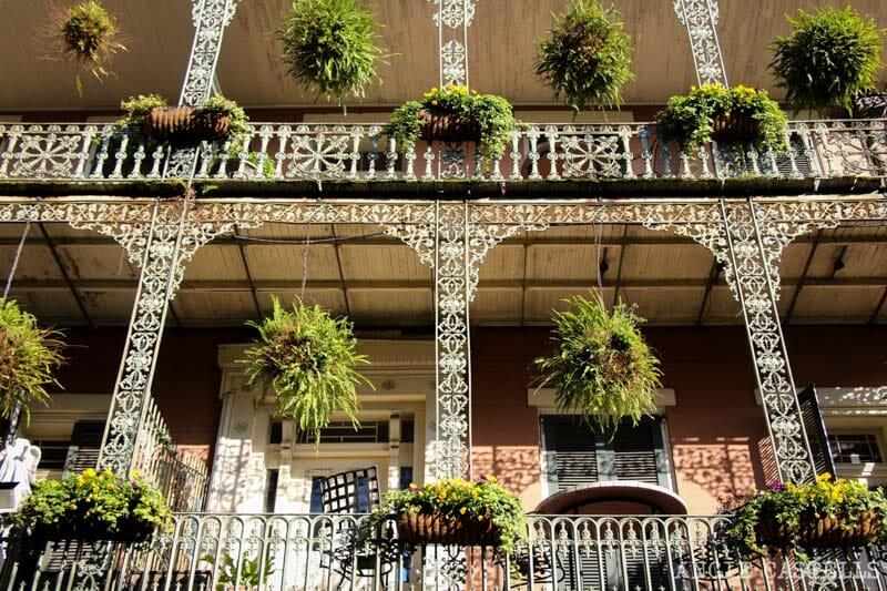 Guia de Nueva Orleans- Balcones French Quarter