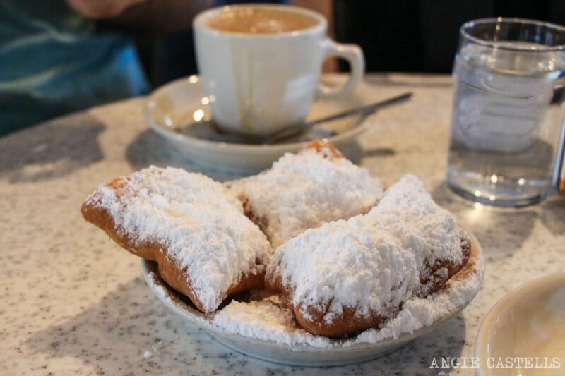 Guia de Nueva Orleans Beignets Cafe du Monde