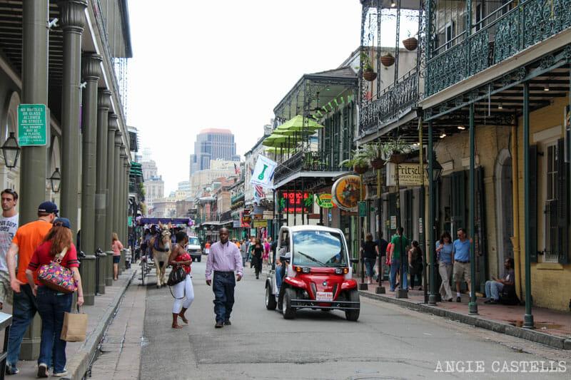Guia de Nueva Orleans French Quarter Calles