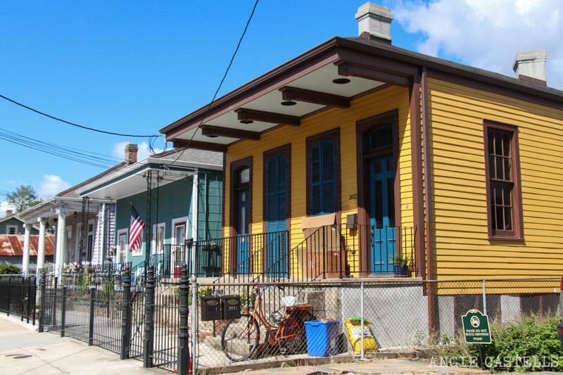 Guia de Nueva Orleans casas Garden District