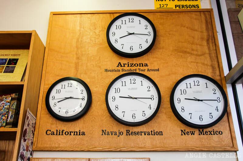 Preparativos para viajar a la Costa Oeste de Estados Unidos - Cambios de horario