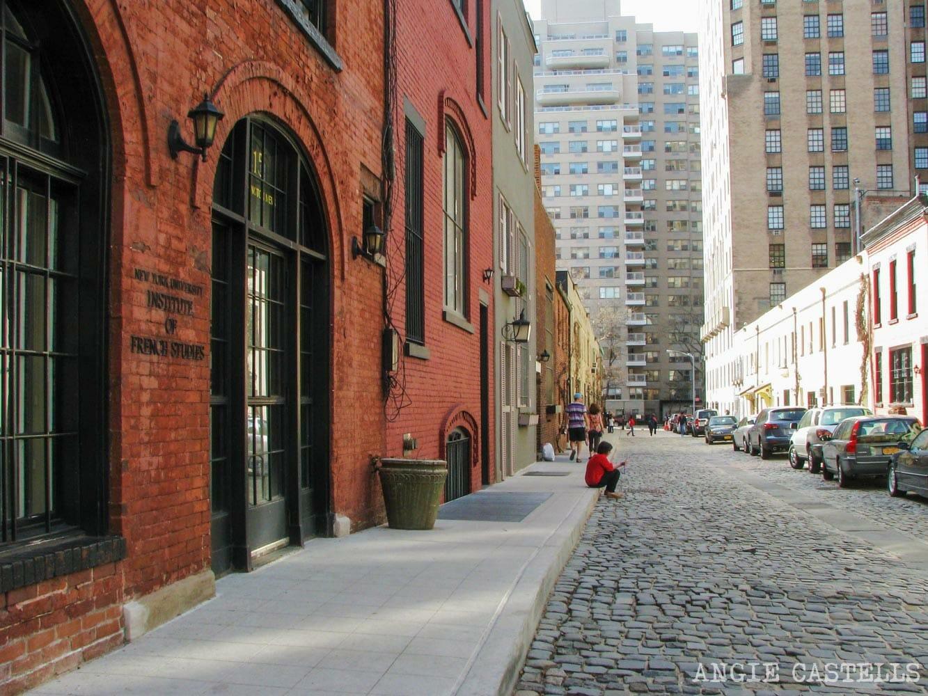 Washington Mews calle mas bonita Nueva York-1-2