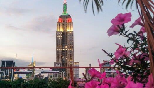 Rooftops de Nueva York con buenas vistas