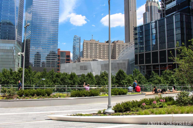 Liberty Park parque elevado World Trade Center-1