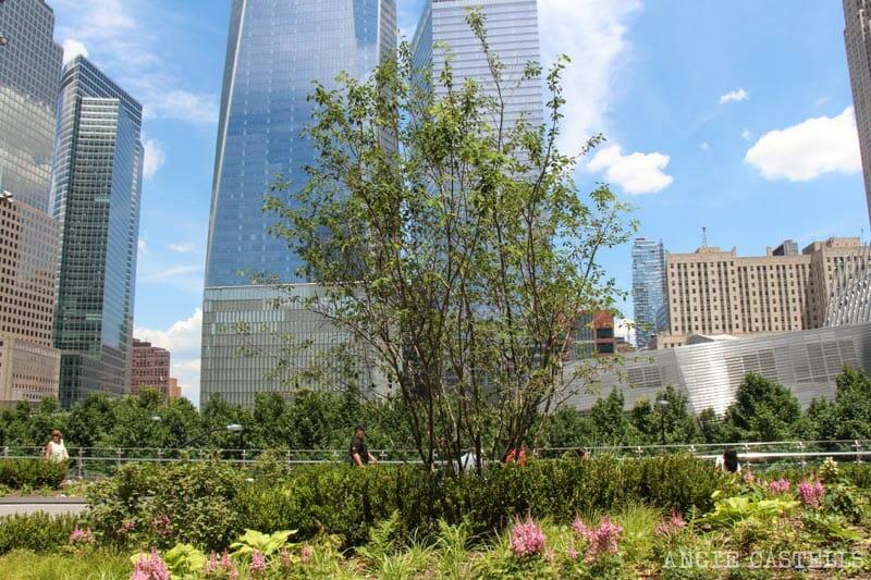 Liberty Park jardin elevado World Trade Center-7