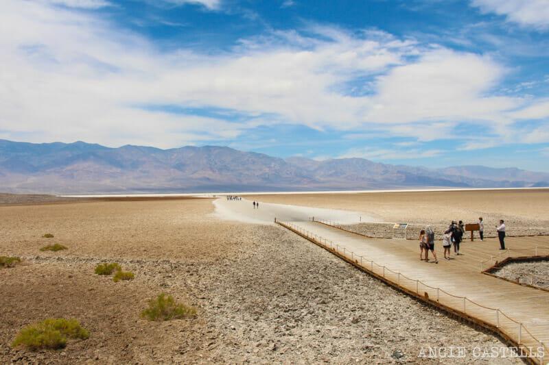 Ruta Costa Oeste USA Itinerario Death Valley