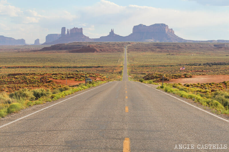 Ruta Costa Oeste USA Itinerario Monument Valley