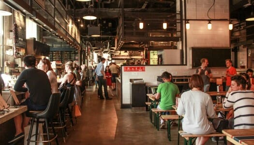 Gotham West Market, un mercado en Hell's Kitchen