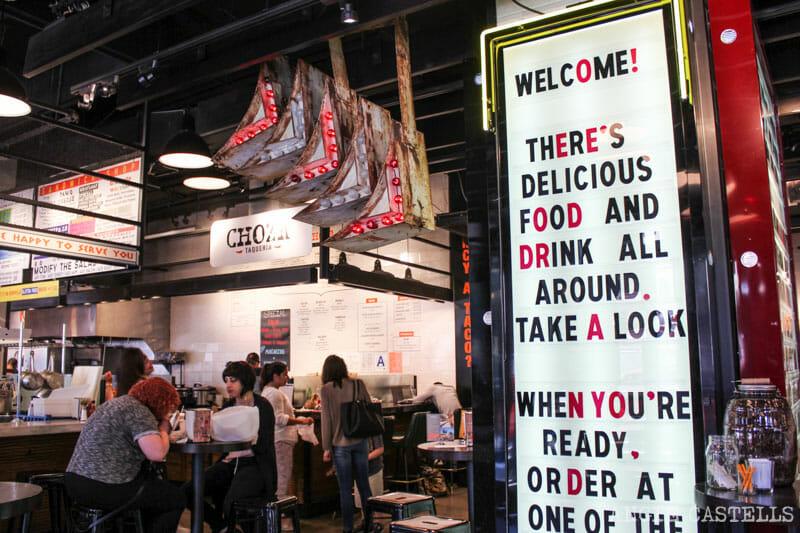 Comer en Nueva York mercado Gotham West Market-6