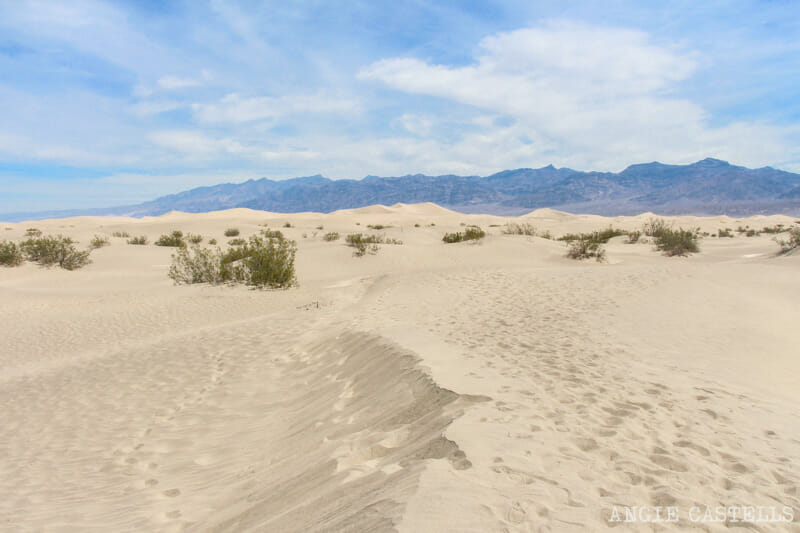 Qué ver en el Death Valley - Mesquite Flat Sand Dunes