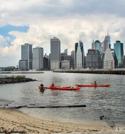 Kayak gratis Nueva York rio Hudson East River