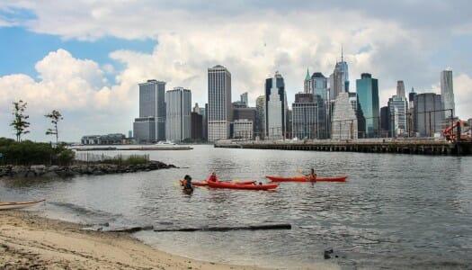 Kayak gratis por el Hudson y el East River